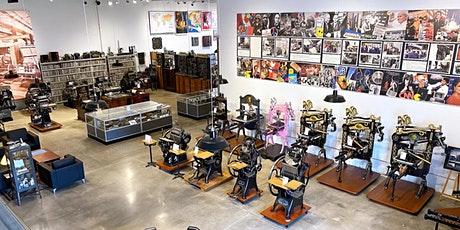Howard Iron Works Printing Museum - virtual tour tickets