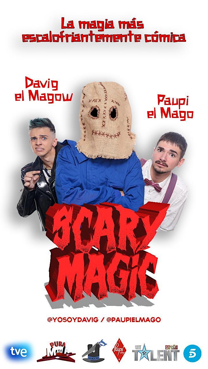Imagen de SCARY MAGIC - Davig el Magow & Paupi el Mago