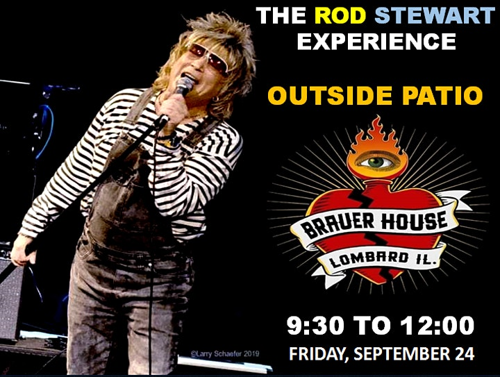 Patio show with THE ROD STEWART EXPERIENCE image