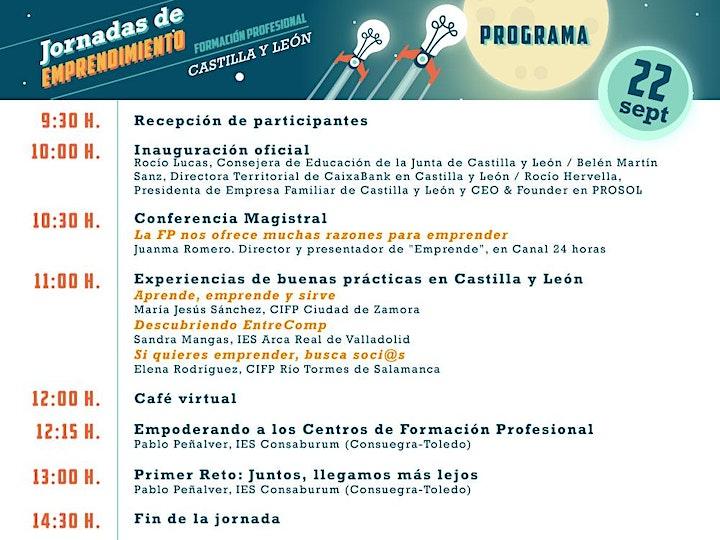 Imagen de Jornadas de Emprendimiento - FP- Castilla y León
