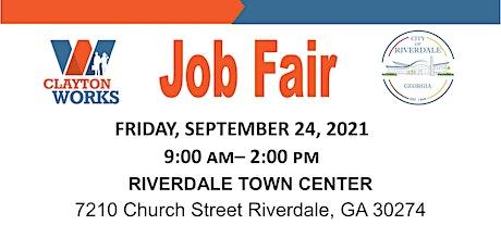 September Job Fair tickets
