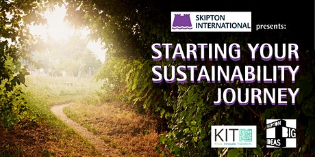 Starting your sustainability journey tickets