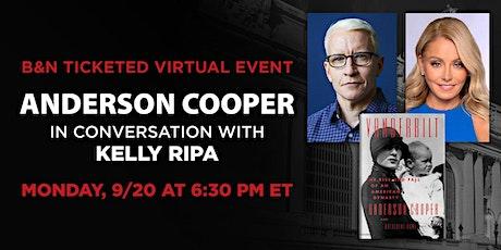 B&N Virtually Presents: Anderson Cooper discusses VANDERBILT! tickets
