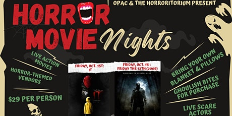 Horror Movie Nights: Friday the 13th tickets