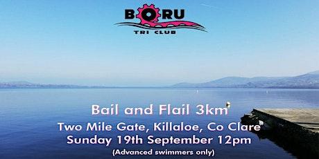Bail and Flail 2021, 3km - End of season club training swim tickets