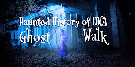 Haunted History of UNA Ghost Walk tickets