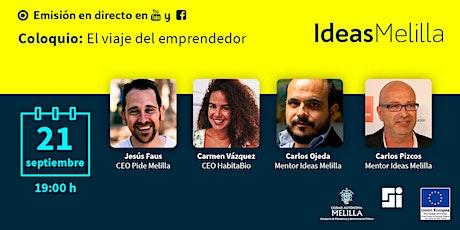 Coloquio: El viaje del emprendedor entradas