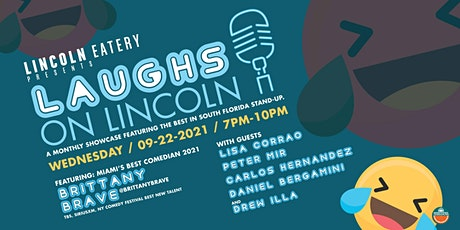 Laughs on Lincoln Presented by Brittany Brave tickets