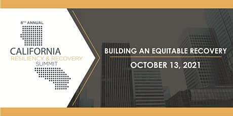 California Resiliency & Recovery Summit tickets