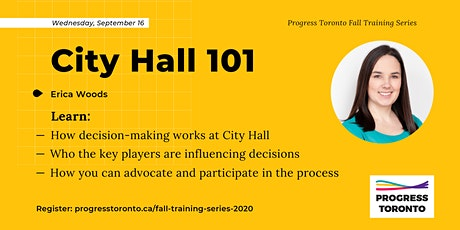 Fall Training Series: City Hall 101 tickets