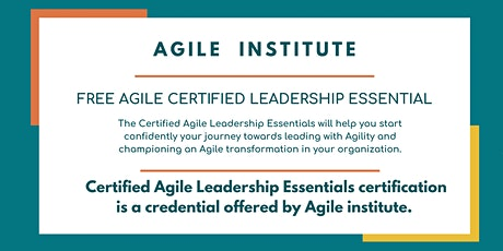 Agile Certified Leadership Essential biglietti