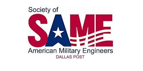 SAME Dallas Post: September  2021 Meeting tickets