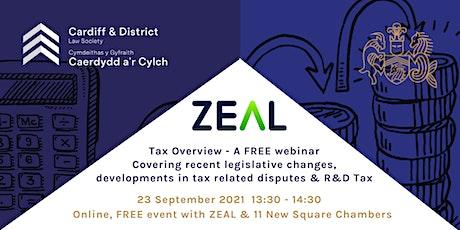 Tax Update: Recent legislative changes, tax dispute development  & R&D Tax tickets