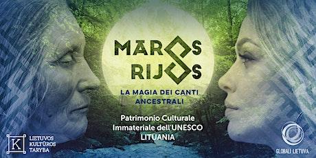 """""""Maros rijos"""" - la magia dei canti ancestrali lituani a Schio (VI) biglietti"""