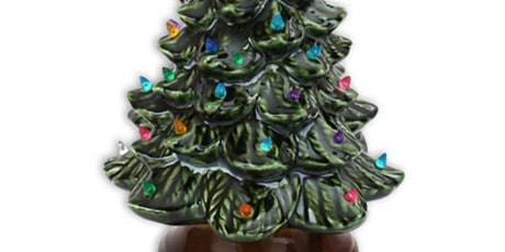 Ceramic Tree With Lights Paint Class At Georgie O' tickets