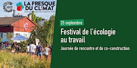 Atelier de La Fresque du Climat  - Festival de l'écologie au travail billets