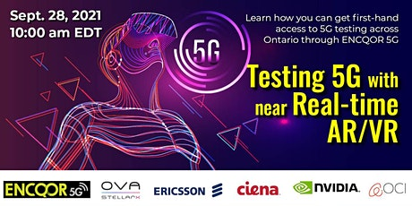 Testing 5G with Near Real-time AR/VR tickets