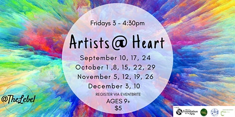 Artists @ Heart Ages 9+ tickets