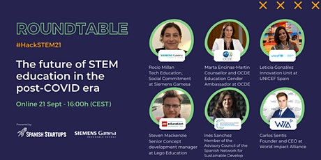 #HackSTEM21: The future of STEM education in the post-COVID era tickets