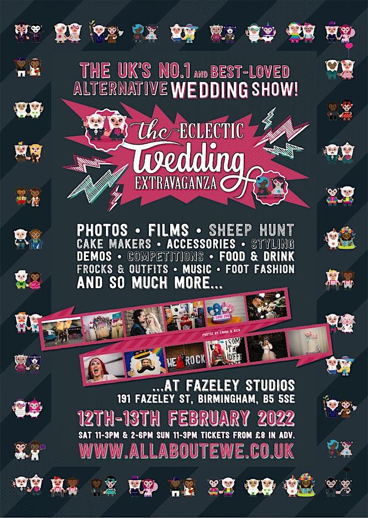 The Eclectic Wedding Extravaganza- Alternative Wedding Fair - EWE image