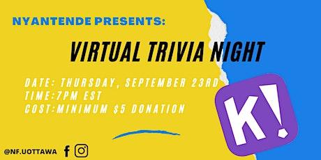 Nyantende Foundation Virtual Trivia Night tickets