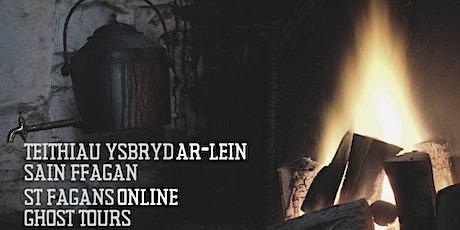Teithiau Ysbryd AR-LEIN Sain Ffagan | St Fagans ONLINE Ghost Tours tickets