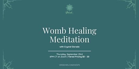 Womb Healing Meditation tickets