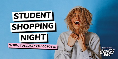 Student Shopping Night at Merry Hill tickets