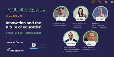#HackSTEM21: Innovation and the future of education tickets