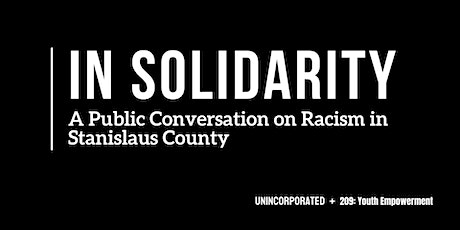 Conversation on Racism in Stanislaus County tickets