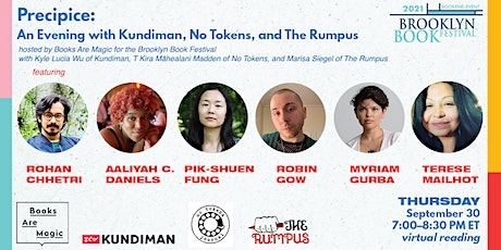 Precipice: An Evening with Kundiman, No Tokens, and The Rumpus tickets