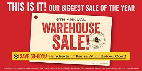 V.I.B. EXCLUSIVE Private Preview :: WAREHOUSE SALE! tickets
