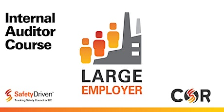 Large Employer Internal Auditor Course - Online - Oct tickets