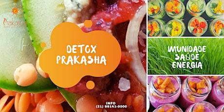 Detox Integral Prakasha - SPA Em casa - delivery no Rio ingressos