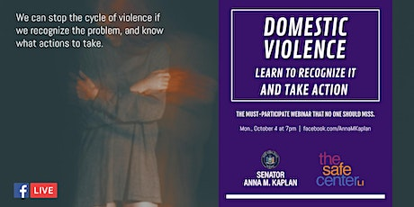 Domestic Violence on Long Island: Recognize It & Take Action tickets