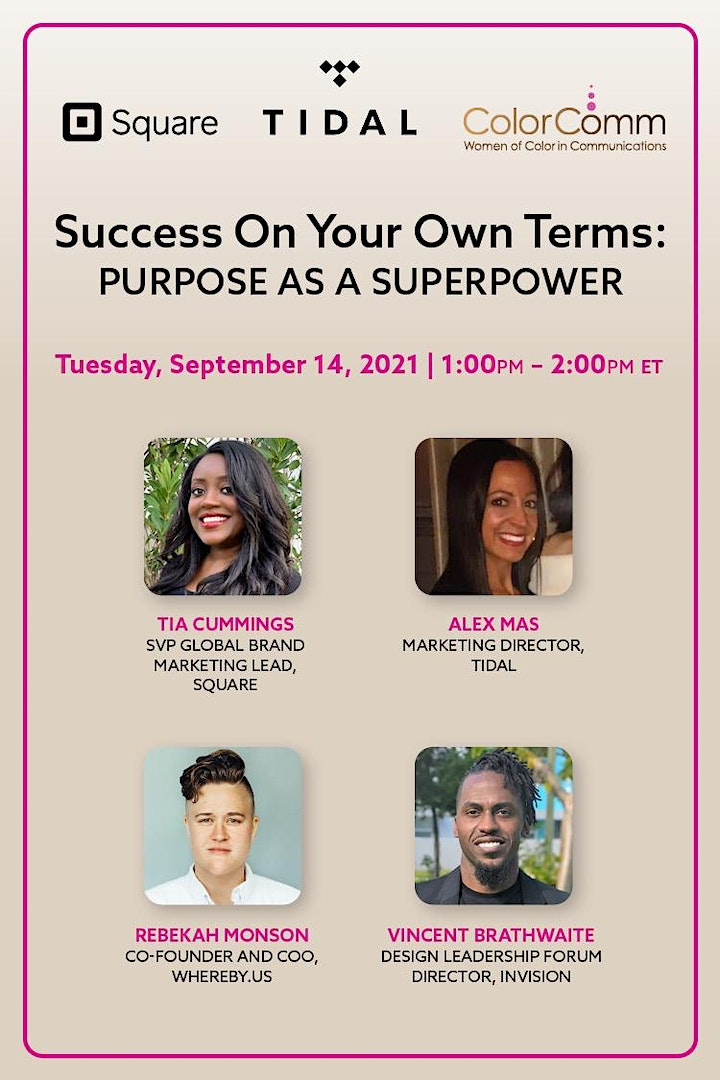 Square Presents: Success on Your Own Terms: Purpose as a Superpower image