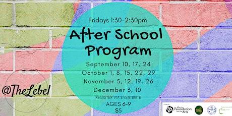 After School Program Fridays tickets
