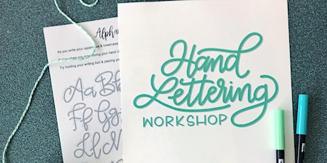 An Intro to Handlettering with Alison Martin tickets