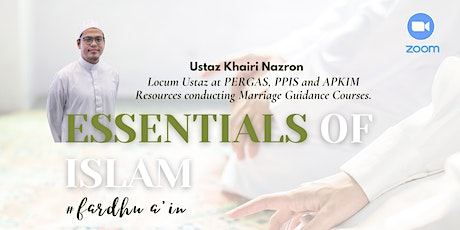 Essentials of Islam by Sofee Initiative LLP tickets