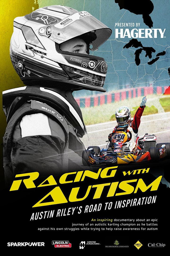 UK premiere of....Racing with Autism,  Austin Riley's Road to Inspiration image