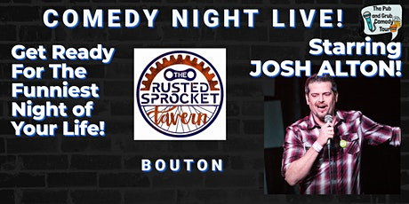 BOUTON, IA | Pub & Grub Comedy with JOSH ALTON + JAMESON COX! tickets