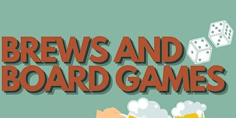 Brews & Board Games tickets
