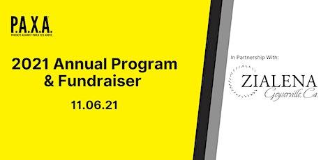 2021 P.A.X.A. Virtual Annual Program & Fundraiser tickets