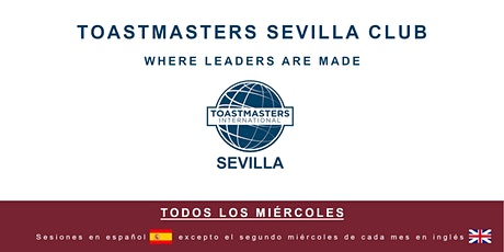Toastmasters Sevilla - Mejora tus habilidades de oratoria entradas
