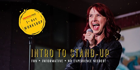 Intro to Stand-Up Comedy (1-Day Workshop) tickets