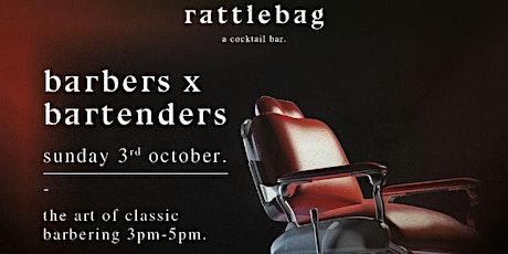 High Society Cut Club at  Rattlebag - Classic Barbering Seminar tickets