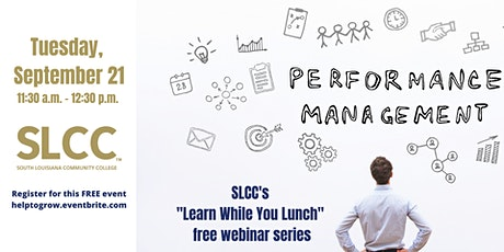 Ongoing Performance Development: SLCC's Learn While You Lunch Series tickets