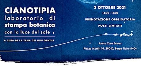 LABORATORIO DI STAMPA BOTANICA   biglietti