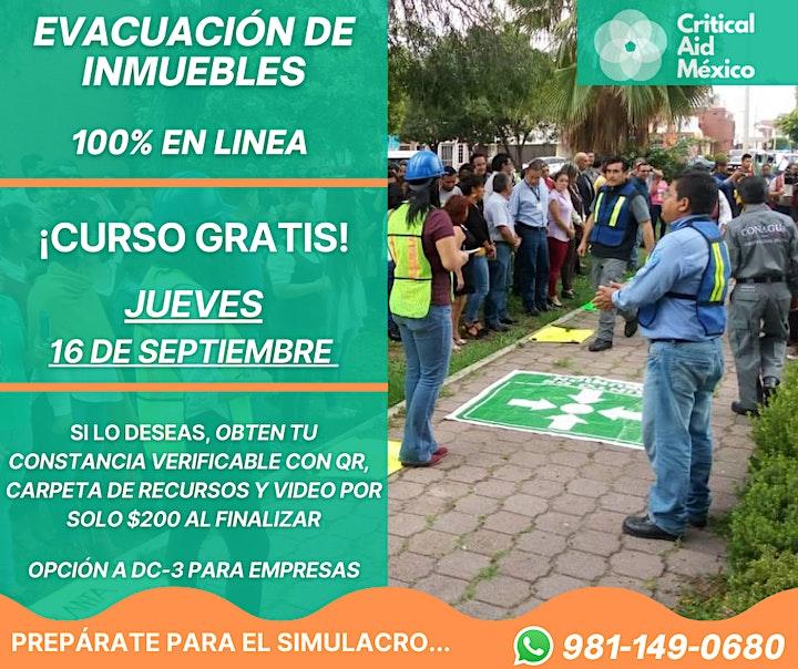 Imagen de EVACUACIÓN DE INMUEBLES - CURSO GRATIS