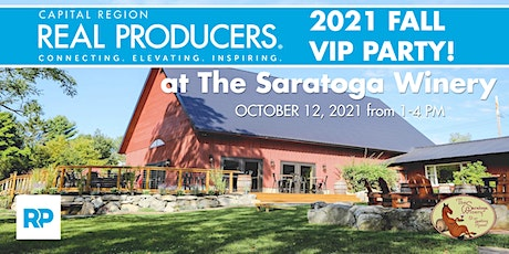 Capital Region REAL Producers - Fall 2021 VIP Party tickets